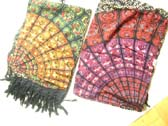 Large fan design on trendy indonesian made sarong