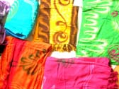 Indonesia styled fashion sarong with art designs
