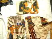 Egyptian theme fashion sarong