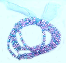 Wholesale beaded jewelry, fashion bracelet in knotted multi color beaded string design